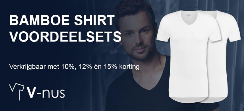 T Shirt Overhemd.Het Ideale V Hals Ondershirt Voor Onder Je Overhemd V Nus