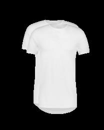T-Shirt Ronde Hals Dry Comfort Wit 2-pack