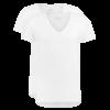 T-Shirt Diepe V Hals Wit Dry Comfort 2-Pack