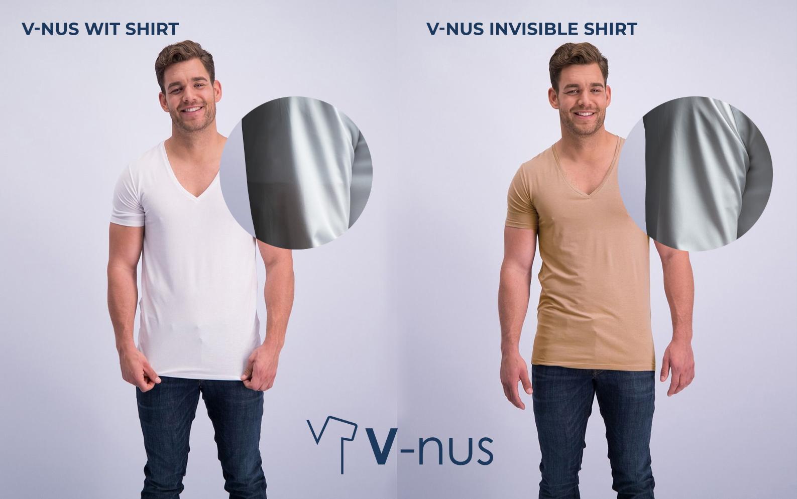 T shirts v hals v-nus